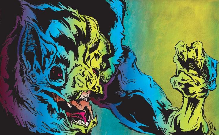 Eric Himle Illustration: Manimal Series/$30