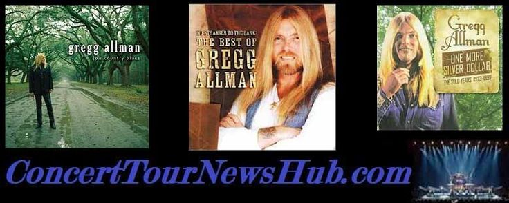 Updated Gregg Allman 2015 North American Tour   Schedule - With The Doobie Brothers & Pat Simmons Jr. - Updated @GreggAllmanNews @TheDoobieBros #MusicNews #TourSchedule