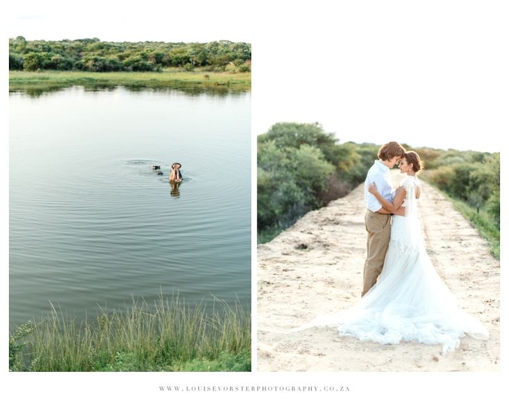 Styled shoot by JeanetLenore Event Management, Louise Vorster Photography, Atomic Orchid, Werner Dey Couture, Gelique, Nazreen Rorke Stationary and Makeup Artistry by Zandri Cloete. Location: Monate Game Lodge