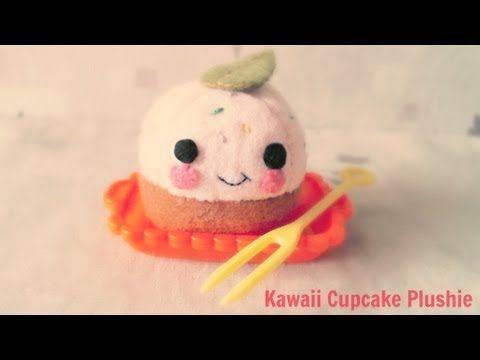 How To Make A Kawaii Cupcake Plushie Tutorial - YouTube