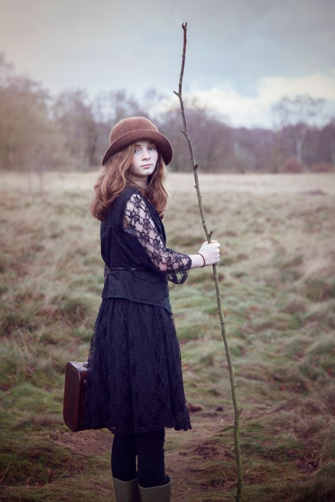 Sophia in Sherwood Forest, photo by: Yak Pics Photography