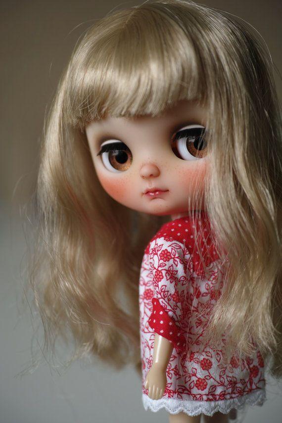Middie Blythe Doll Custom by chaoskatenkosmos on Etsy