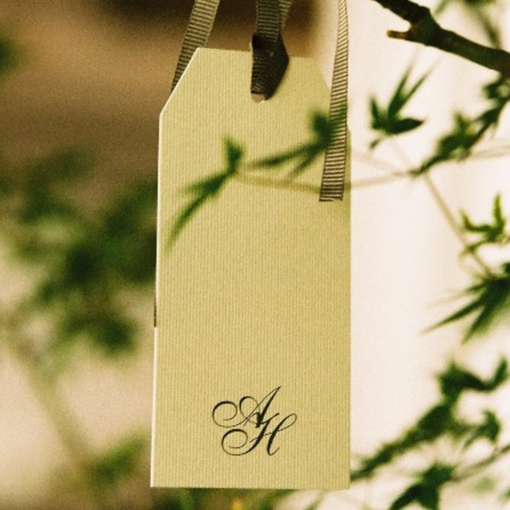 Wishing tree tags - Amanda and Harry Stationery by Papier d'Amour