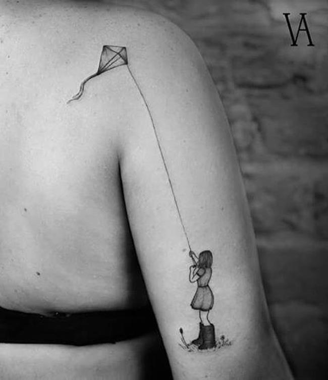 Sırt Dövmeleri ile Adından Sıkça Söz Ettiren Sanatçı Violeta Arus'tan 20+ Çalışma Sanatlı Bi Blog 27