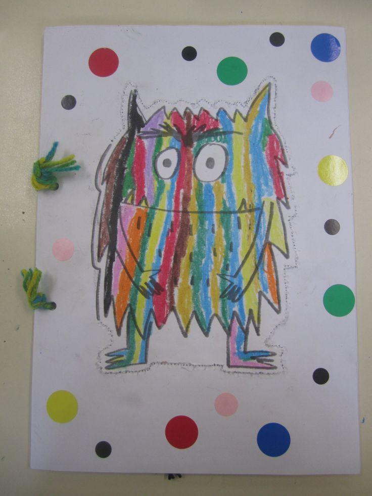 """Proyecto para trabajar la Educación Emocional, a través del cuento """"El Monstruo…"""