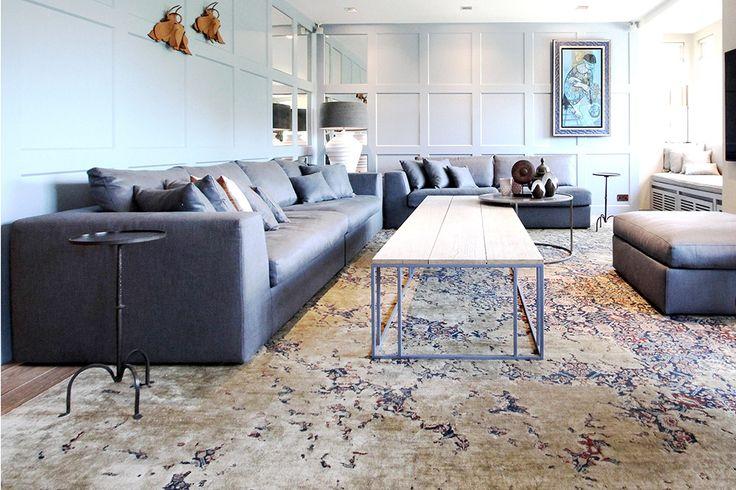 Een prachtig interieur in het appartement in hartje Londen. Architect Michiel de Zeeuw heeft stap-voor-stap het appartement een totale make-over gegeven.
