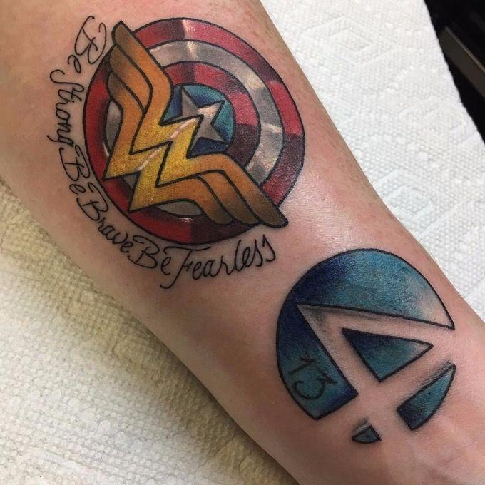 Best 25 wonder woman tattoos ideas on pinterest wonder for Wonder woman temporary tattoo