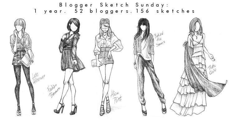 Blogger Sketch Sunday by Viz Basix
