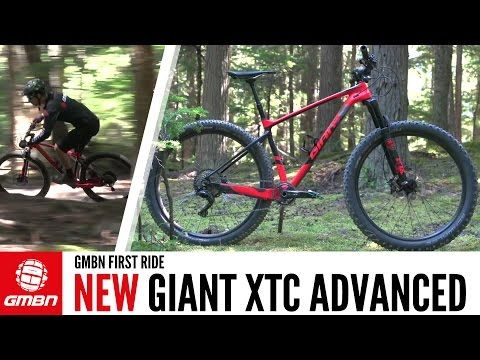 NEW Giant XtC Advanced | GMBN's First Ride - YouTube