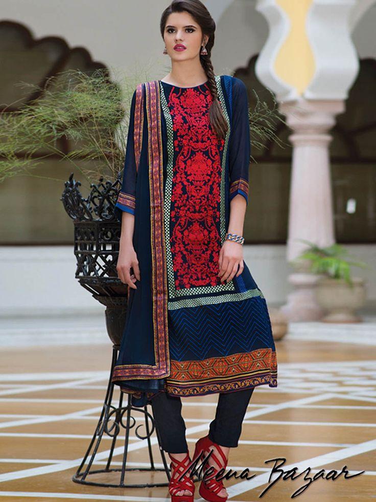 Products :: Salwar Kameez :: Georgette Suit Piece