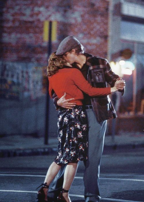 The Notebook - I loved this scene, dancing in the middle of the street.  I loved her shoes!