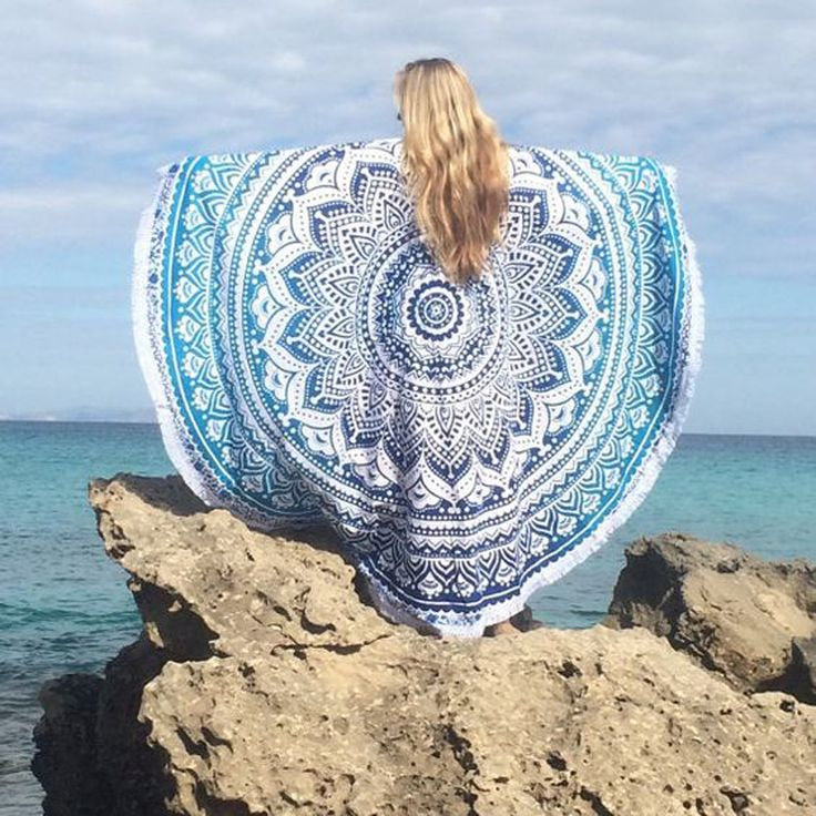 Find More Bath Towels Information about Round Beach Towel Geometric Printed Bath Tassels 150x150cm Beach Round Towels Circle serviette de plage bain para playa toallas,High Quality towel beach,China towel velcro Suppliers, Cheap towel cleaning from Stacy's Store--girl's secret garden on Aliexpress.com