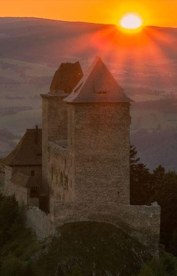 Kašperk gothic castle (South Bohemia), Czechia