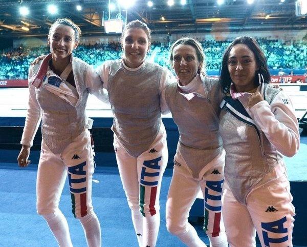 Grandi ragazze!!! you are the champions...!