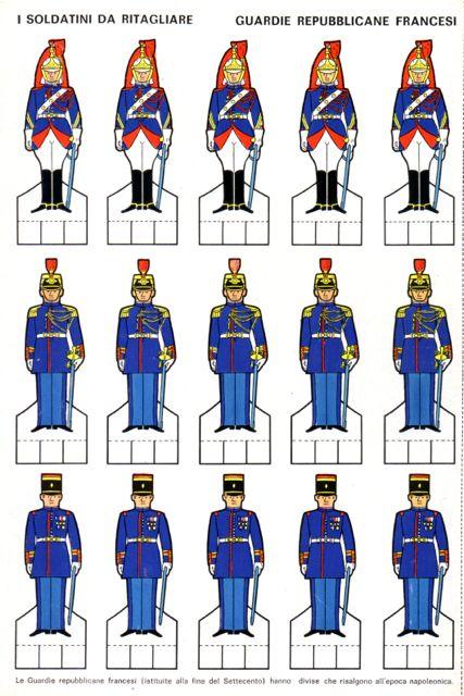 1972 - sn - De Paoli - Guardie repubblicane francesi