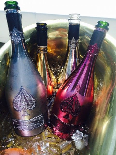 Armand de Brignac Recently Launched Its Most Expensive Champagne #drinks trendhunter.com