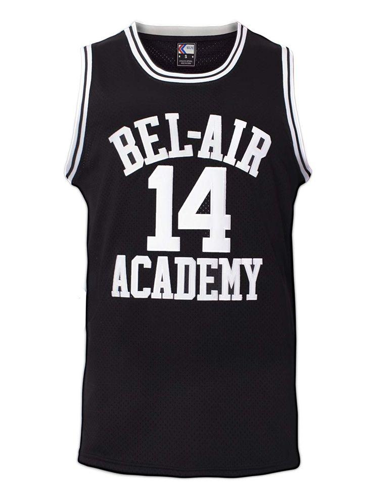 Smith 14 Bel Air Academy Black Basketball Jersey SXXXL