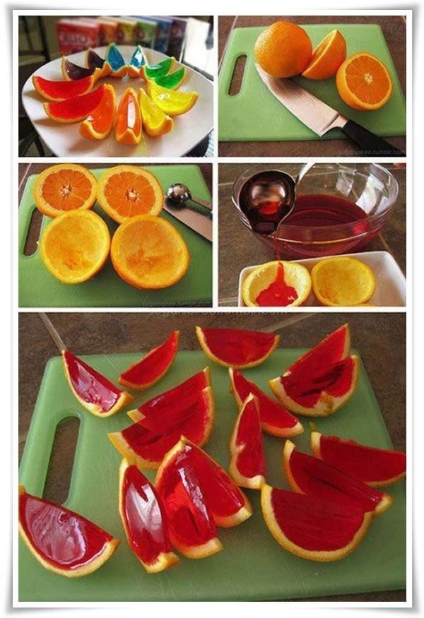24 DIY Amazing Creations From Food