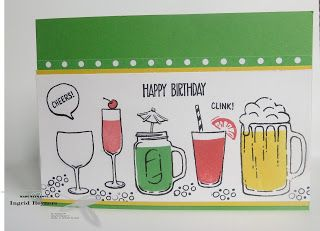 Mixed Drinks Stampin'Up