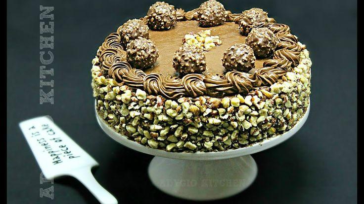 Reteta pentru tort Ferrero Rocher, un tort delicios - retete de tort Adygio.