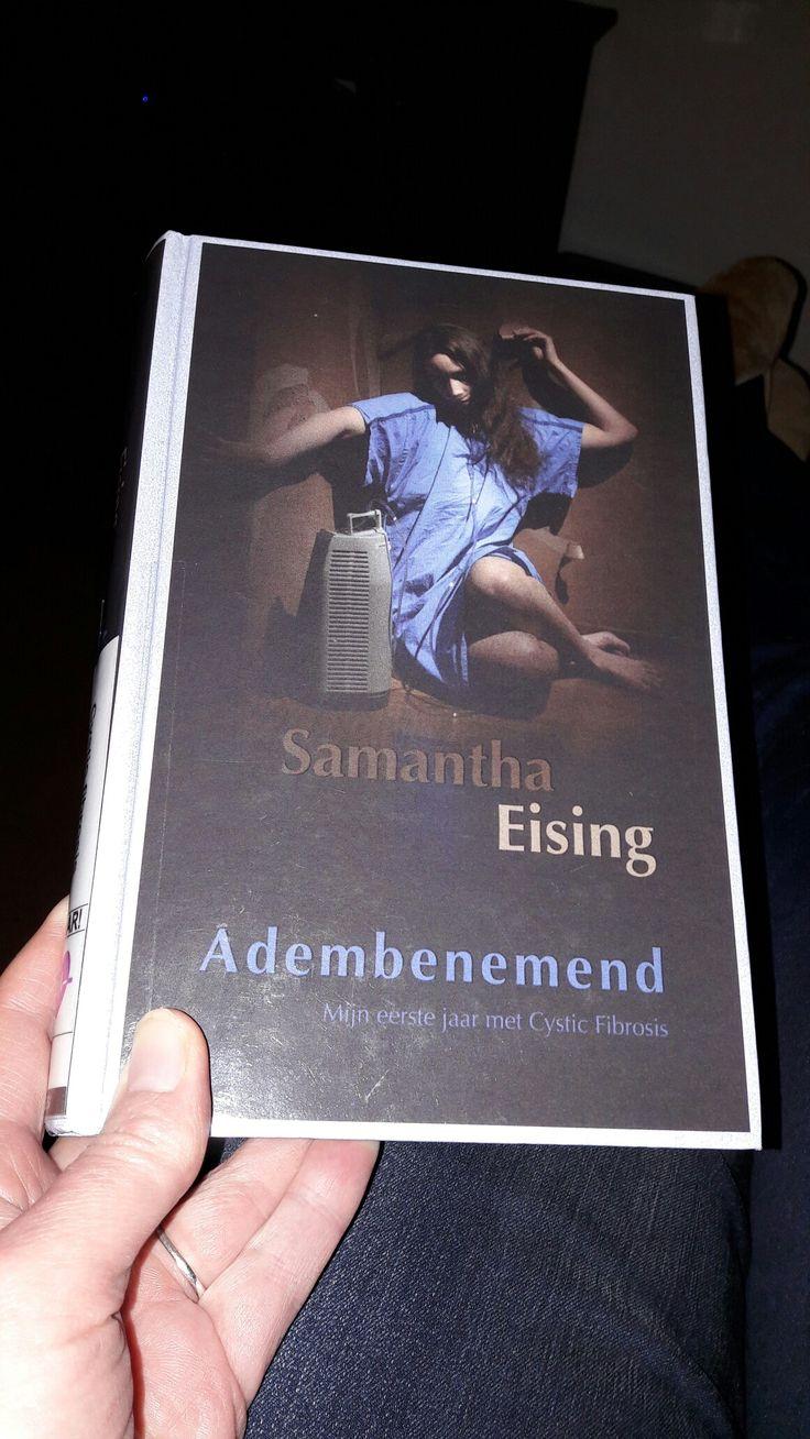 Boek 7 van 2017 Adembenemend van Samantha Eising Autobiografie over cystic fibrosis. Heftig verhaal van een sterke vrouw met veel wilskracht  #boekper2weken ipv #boekperweek