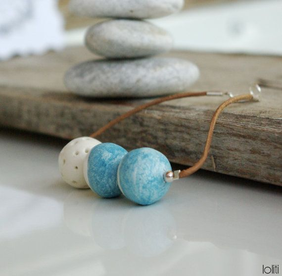 bracelet inspired by sea summer seafoam and beach unique by loliti