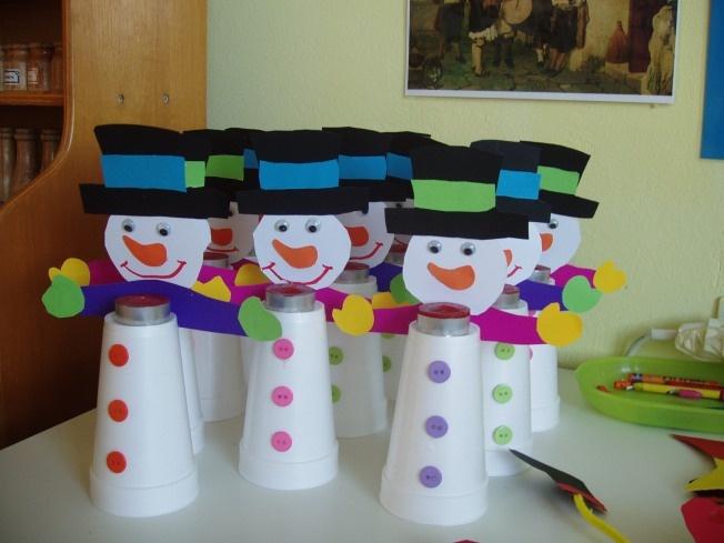 sneeuwpop knutselen met kleutes