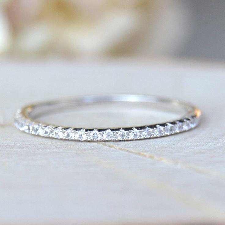 Eternity Ring - Silver