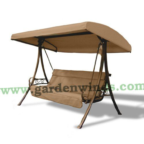 Special Offers - 3-Person Charm Swing Replacement Canopy - In stock & Free Shipping. You can save more money! Check It (July 09 2016 at 11:00AM) >> http://gardenbenchusa.net/3-person-charm-swing-replacement-canopy/