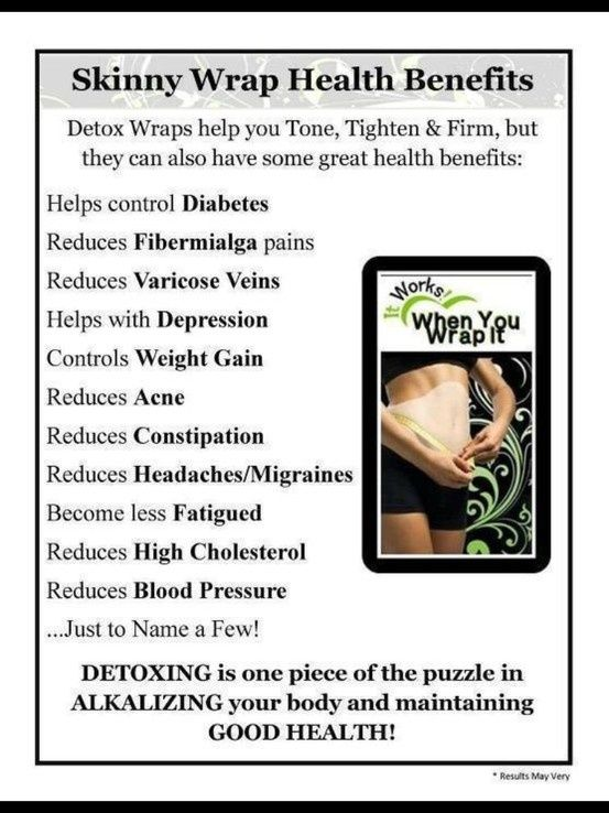 Oh, you mean it's not just making me skinny? Check out the many benefits to the Ultimate Body Applicator by It Works http://wrappingitoutwithsara.myitworks.com