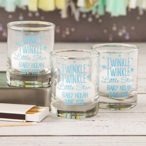 Personalized Shot Glass Votive Holder by Beau-coup