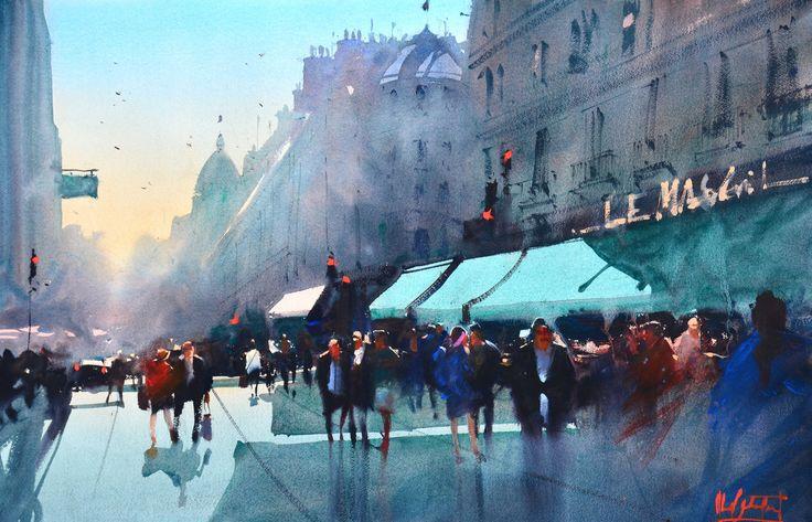 Le Marais- Paris by Alvaro Castagnet