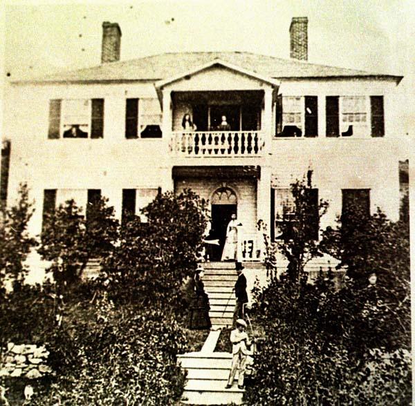 House of Madame Laframboise, Mackinac Island, now Harbor View Inn