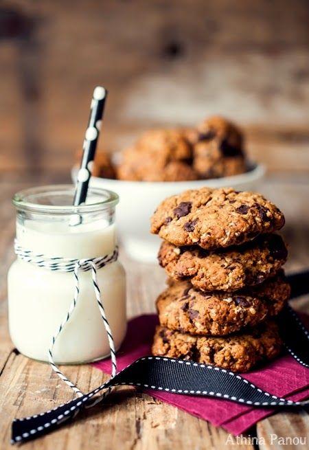 Cookies με αλεύρι ζέας, χωρίς ζάχαρη