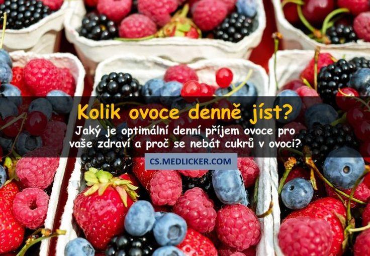 Jaké množství ovoce je pro zdraví nejlepší?