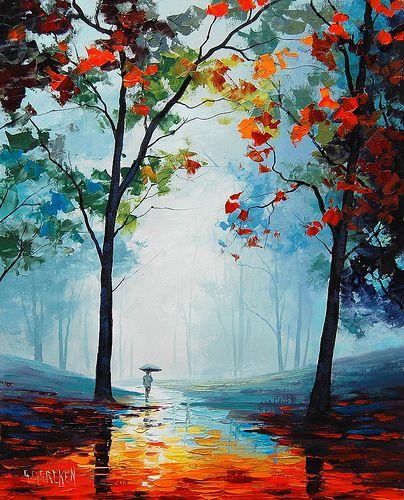Pluie d'automne de Graham Gercken.