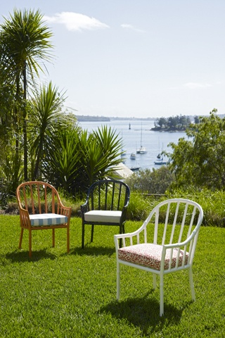 Loving these bamboo chairs from Robert Plumb. Designed by #William Dangar