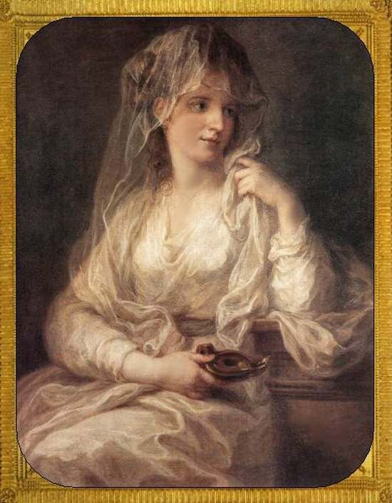 Кауфман, Ангелика - Портрет женщины в костюме весталки