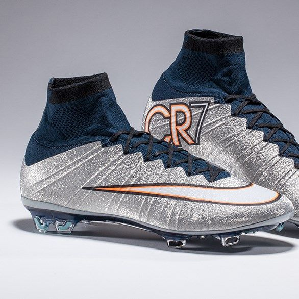 Built for CR7. The Nike Mercurial Superfly Silverware. So much shine.