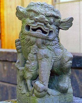 中國獅子 | 諏訪神社(千葉県富津市金谷)