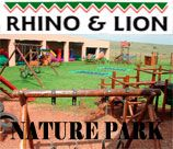 Rhino Lion Park - Krugersdorp is a party venue with a difference. Here children have the freedom to express themselves, get rid of excess energy. The secure and safe play area offers 5 colourful jumping castles, foofy slide, maizes and an obstacle course. And also have opportunity to see some amazing animals in the park.