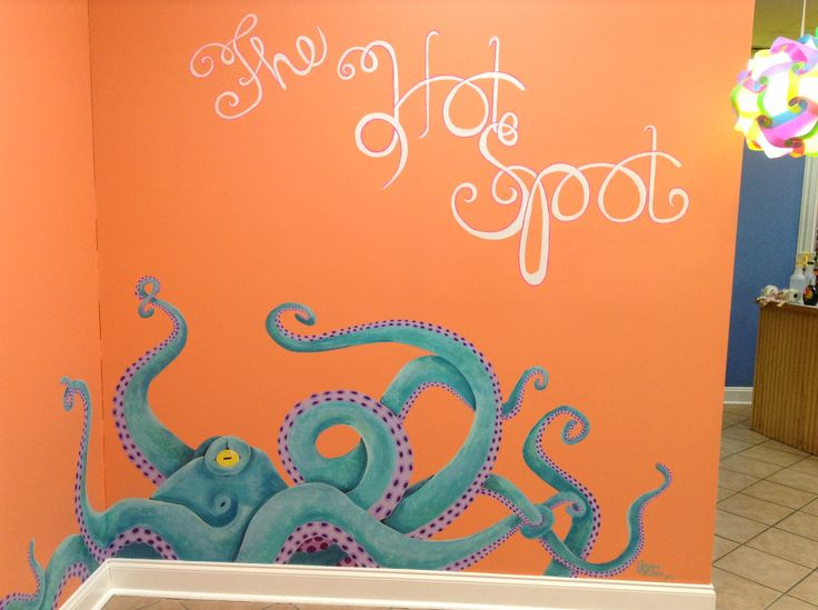 Painted in a local tanning salon by me!