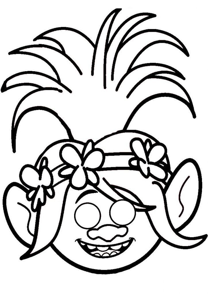 Simple Poppy Coloring Pages Best Coloring Pages For Kids To