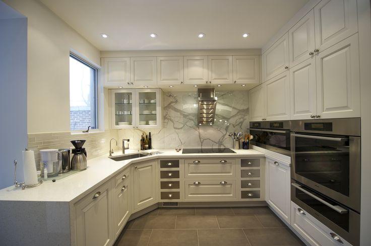 Kitchen. Decorating Minimalist Kitchen Sink Corner: Simple Windows ...