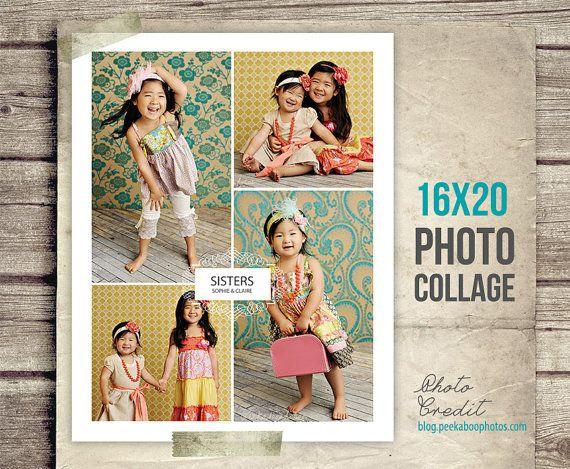 Sisters Photo Collage  Siblings Picture by StudioTwentyNine, $8.00
