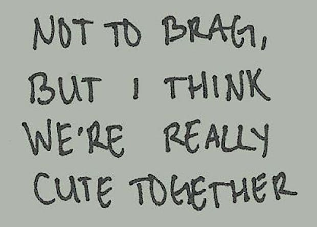 22 Cute Quotes To Send Your Boyfriend When You Can't Get Him Off Your Mind