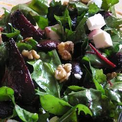 Beetroot, Rocket, Feta and Walnut Salad @ allrecipes.com.au