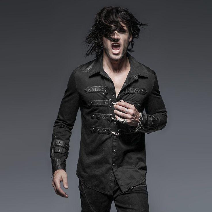 Heavy Metal shirt | $119 Punk Rave | OtherWorld Fashion  #gothic #rock #metal #mensfashion