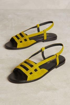 Megumi Ochi Citron Slingback Sandals | Anthropologie