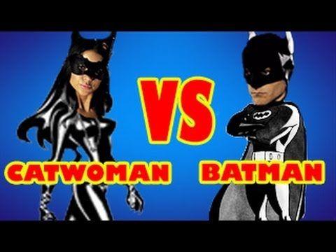 Batman vs Catwoman - Arianny Celeste in Film Strip! - YouTube